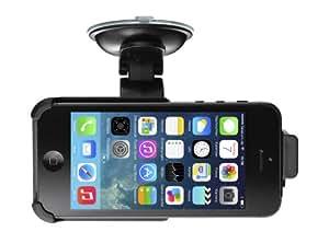 BUYSICS Auto-Halterung mit 360° Kugelgelenk, KFZ, Handy-Halterung iPhone 5 5s,
