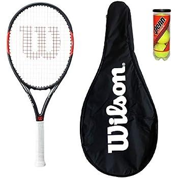 Wilson Federer Tour 105 - Raqueta de tenis con funda