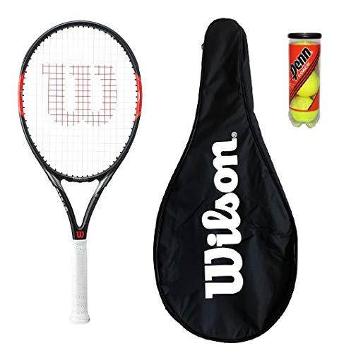 Wilson Federer Pro BLX Tennis Racket + copertina + 3 palle
