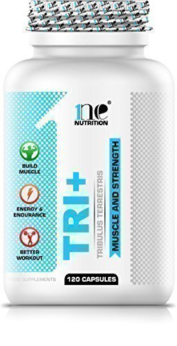1ne Nutrition Tri+ 120 x 700mg Capsules - 95% Saponins Tribulus Terrestris - Testosterone Booster Support Muscle Gain