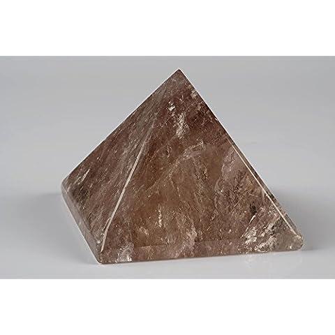 Smoky quartz pyramid-natural healing cristallo, room décor home styling