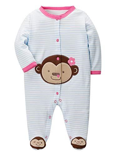 SANMIO Baby Mädchen Jungen Unisex Strampler Babykleidung Baumwolle Langarm Satz Neugeborenes Niedlich Ärmel Tops Hosen Ausstattungs