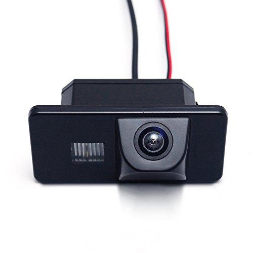 Caméra de recul Feeldo de voiture pour BMW série 5 (E60/E61/E63/E64)/X5 (E70)/X6 (E71/E72), série 1 (E81/E87), série 3 (E90/E91/E92/E93)