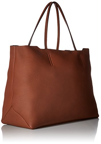 Ecco - Jilin Shopper, Borse a spalla Donna Marrone (Brown)