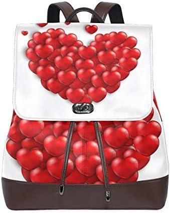 FAJRO rosso Heartstravel zaino zaino zaino borsa scuola confezione | Per La Vostra Selezione  | Stile elegante  | Forma elegante  a1f053