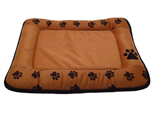 Cuccia per cani antiscivolo goldenhome coccolina - sofficissima - letto per cane/gatto - cuscino cane/gatto -colore ocra