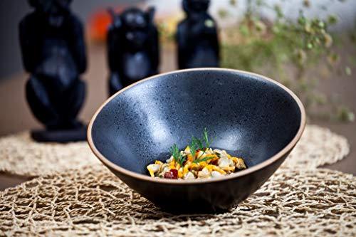 The Chef Collection – Bowl Luna de la Colección Zen de Cerámica Diseño Japonés. 18,5x8,5 cm