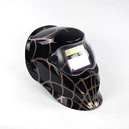 Variable photoelektrische Schweißmaske Automatische Flüssigkristall-Schweißmaske Schweißkopfmontiert Einstellbare Farbwechsel-Schweißkappe