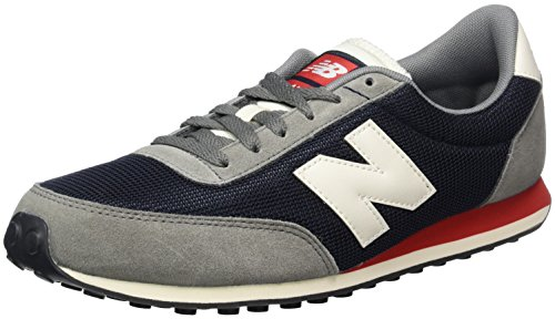 New Balance Running Classics, Sneakers Basses Mixte Adulte Multicolore (Grey/Navy)