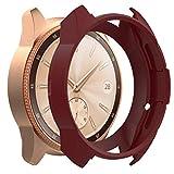 Gaddrt Uhr Schutzhülle, Weiche TPU-Schutzhülle aus Silikon für Samsung Galaxy Watch 42 (Wein)