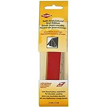 Kleiber - Cinta de reparación de costuras de tela, impermeable, autoadhesiva, para tiendas de campaña, abrigos, paraguas, etcétera, 3 m x 2 cm, color rojo