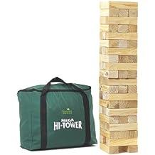 Mega Hi-Tower In A Bag - Juego de habilidad, 10 jugadores (Garden Games 5067) (versión en inglés)