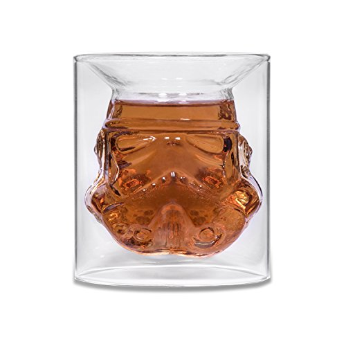 W Kostüm Bärte - Shepperton Design Studios - Original Stormtrooper Glas, transparent - thumbs UP! - 1001571