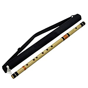Professional Bamboo Bass Flutes Transverse Bansuri Woodwind Indian Musical Instruments