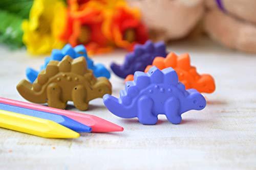 rier Kinder Buntstifte Set von 5 Party Taschen Färbung Recycling Vorschule geformten Wachsmalstift Reiseaktivität Geburtstagsfeier bevorzugt Geburtstag Geschenk Kinder ()