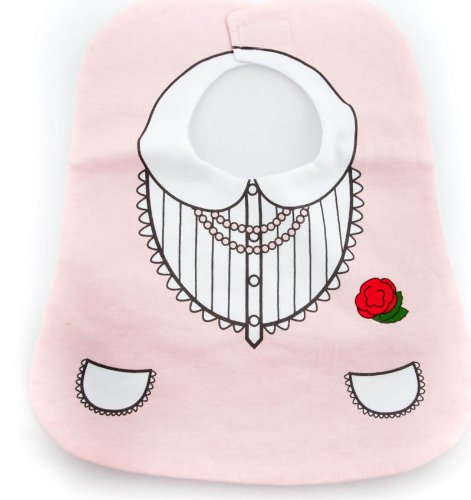 bavoir-bb-en-coton-de-qualit-style-princesse-rose