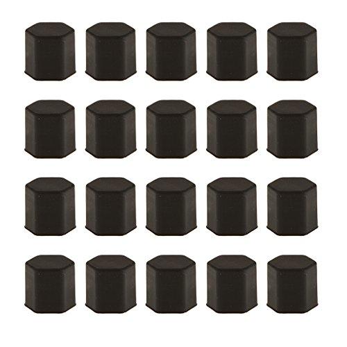 paquet-de-20-voiture-pneu-de-la-roue-a-vis-proteger-boulon-capuchon-decrou-lug-17mm-noir