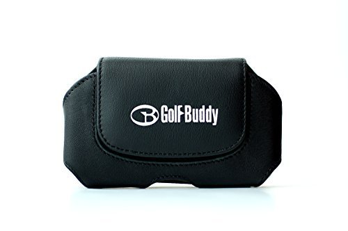 GolfBuddy Leather Holster Accessory, Black, Medium by...