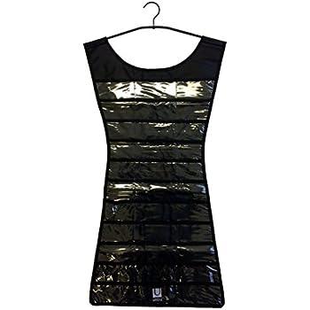 13d4f6539e1 UMBRA Little Black Dress. Range bijoux Little Black Dress. Coloris noir. 17  poches. Cintre noir. Dimension   42.5x92.7cm