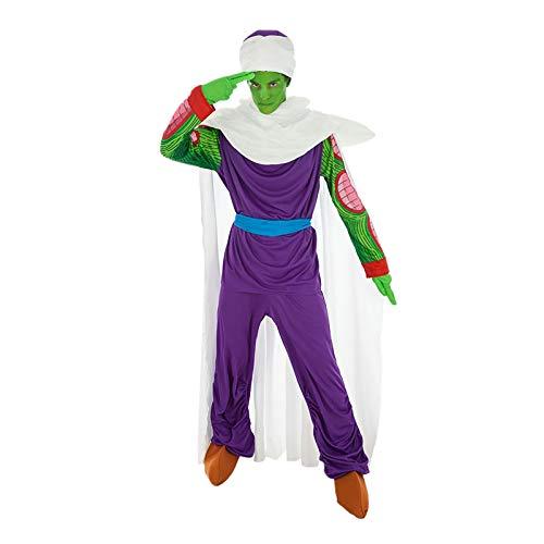 Piccolo Gohan Kostüm - Chaks Piccolo Dragon Ball-Kostüm für Erwachsene bunt