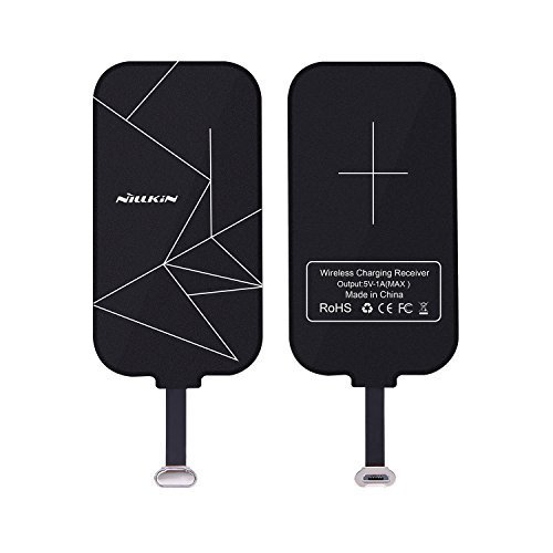Nillkin Wireless-Ladegerät-Empfänger,Wireless Charger Receiver, Magic Tags Qi Wireless Ladegerät Ladegerät Patch Modul Chip für VIVO X6 und andere Micro USB Narrow-Side Down Qi-Enabled Devices