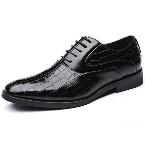 Qianliuk Mann Wohnungen Klassische Männer Kleid Schuhe Business Leder Formale Schuhe Spitz Oxford Schuhe Für Männer Plus Größe