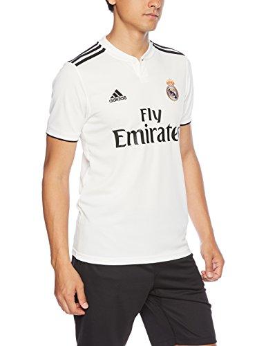 adidas Herren REAL H JSY T-Shirt, core White/Black, M