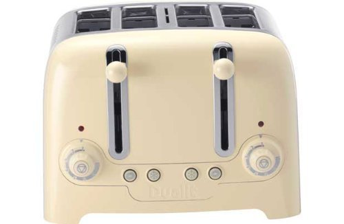 Dualit 46201 4 Slice Toaster – Cream.