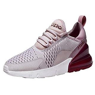 NMERWT Damen Sneakers Freizeit Athletic Luftkissen Flat Running Laufschuhe Sportschuhe rutschfeste leichte Turnschuhe Trainers Fitness