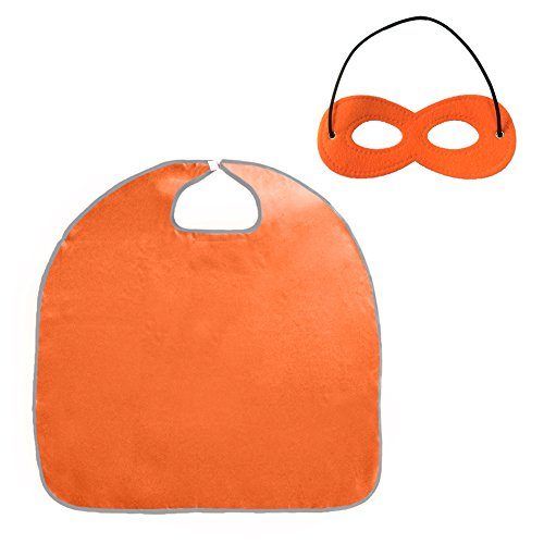 ang mit Filz-Maske, Set für Halloween, orange, PUKH-DK31122_ORANGE-433INX276IN (Bösen Kind Kostüm Mit Flügeln)