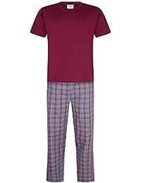 iceBoo Mens Pyjama Set Suit Pyjamas Loungewear Nightwear Sleepwear Two  Piece PJ Night Suit Short Sleeve abbeb6fec