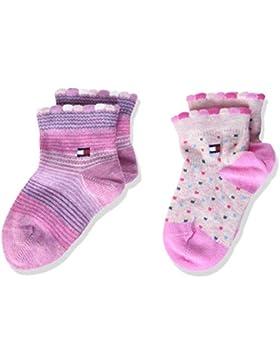 Tommy Hilfiger Baby-Mädchen Socken, 2er Pack