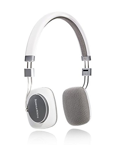 Bowers & Wilkins P3 Headphone – White/Grey