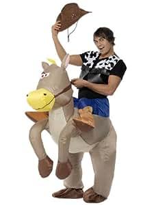 Smiffy's Ride Em Cowboy Inflatable Costume