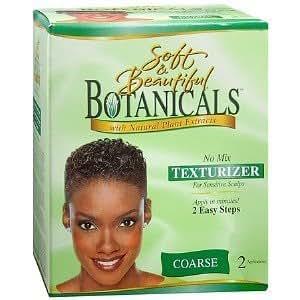 Soft & Beautiful Défrisant sans mélange Botanicals pour cuir chevelu sensible - Cheveux rêches