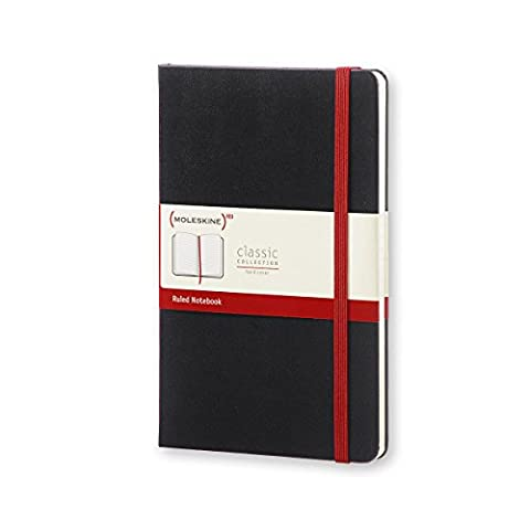 Moleskine qp060red02Notebook–Stripes