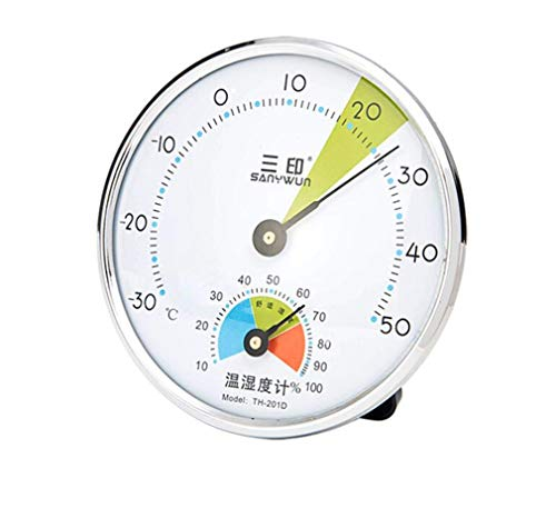 Higrometro Digital Termometro Higrometro Digital Relojes Jardin Hogar Termómetro E Higrómetro De Interior...