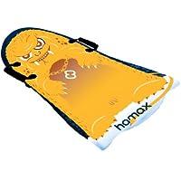 Hamax Schlitten & Rodel - Bobs Mini Surfer - Tobogán para nieve, color multicolor, talla 90x52x3,5
