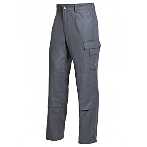 Bierbaum Proenen Pantalon de travail coton multipoche - Homme - 44 - Gris