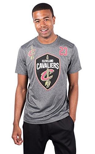 UNK NBA Lebron James Cleveland Cavaliers Herren T-Shirt Kurzarm, Herren, Lebron James Cleveland Cavaliers Men's T-Shirt Tee Shirt, anthrazit, Medium - Lebron James Nba