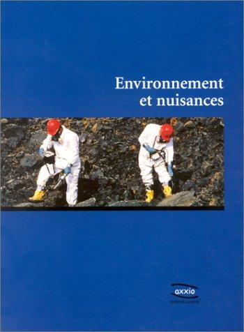 Environnement et Nuisances par Collectif