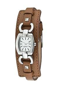 Esprit - ES000V12004 - Montre Femme - Quartz Analogique - Bracelet Cuir Marron