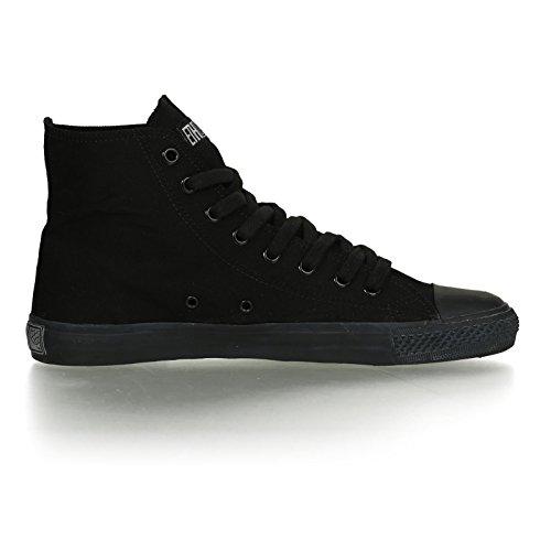 Ethletic Black Cap HiCut / High-Sneaker aus Bio-Baumwolle in schwarz – fair & nachhaltig - 5