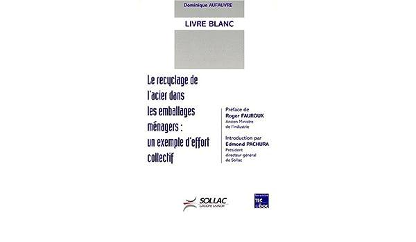Amazon Fr Livre Blanc Le Recyclage De L Acier Dans Les