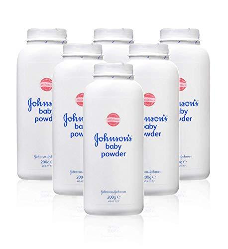 Johnson's Baby Powder, 200g - Pack of 6