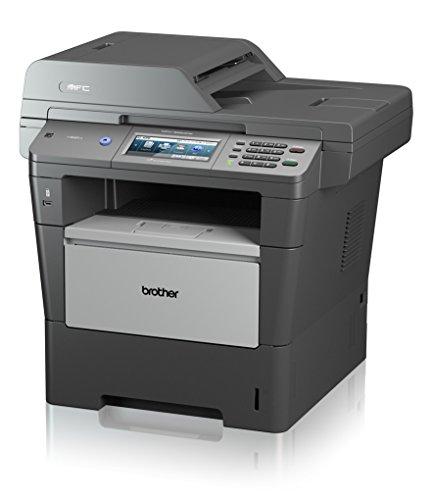 onolaser-Multifunktionsgerät (Scanner, Kopierer, Drucker, Fax, 1200 x 1200 dpi, USB 2.0) grau ()