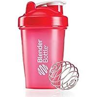 BlenderBottle, Shaker classico con sfera Blenderball, colore: Rosso, capacità: 590