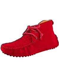 Minitoo - Zapatos Planos con Cordones hombre , color Marrón, talla 39.5 EU