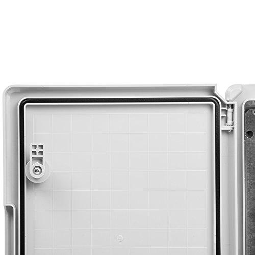 Schaltschrank 30 x 40 x 22 cm verzinkt Montageplatte ABS Kunststoff IP65 300 x 400 x 220 mm - 6