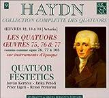 """Afficher """"Collection complette des quatuors n° 4 Les quatuors 75,76 & 77 connus comme opus 76,77 & 103"""""""